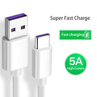 Fast Charger Cable Type C USB-C Data Charging Cable For Sumsang Huawei Xiaomi