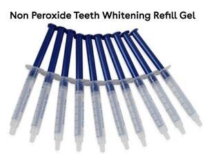 Teeth Whitening Refills Gel Extra Strong Dental Quality Gel Non Peroxide Kit
