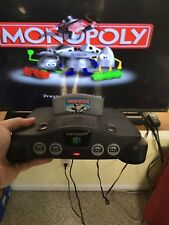 Nintendo 64 console with jumper pack, AV and Power cables!