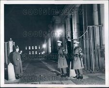 1954 Guards at Allied Control Authority Building Berlin Germany Press Photo