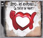 2 CD / LES ENFOIRES 2010 - LA CRISE DE NERFS / 21 TITRES (ALBUM 2010)