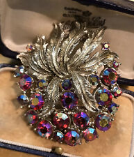 Vintage Coro Signed Statement Brooch