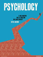 Psychology Textbook - 5th Edition , Martin , Carlson and Buskist