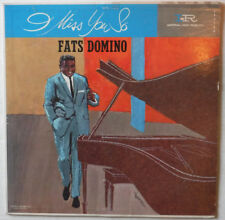 FATS DOMINO ON IMPERIAL LABEL 9138 - 12 INCH 33 RPM LP RECORD – I MISS YOU SO