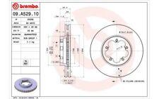 2x BREMBO Discos de freno delanteros Ventilado 280mm 09.A529.10