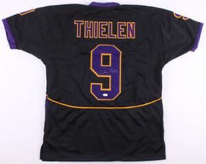 Adam Thielen Signed Minnesota State Mavericks Jersey (TSE) Vikings All Pro W.R.