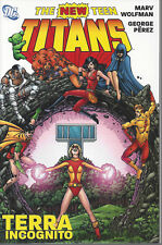 New Teen Titans Terra Incognito  SC TPB  NEW  OOP   40% OFF