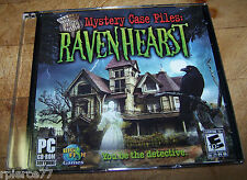 Big Fish Games - MYSTERY CASE FILES: RAVENHEARST - 2007 - Rated E - EUC!