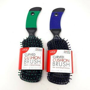 Donna Large Curved Cushion Brush Styling & Volumizing NEW - Pick Your Color