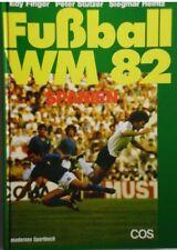 Fußbal WM 82  Edy Finger / Peter Stützer / Siegmar Heintz