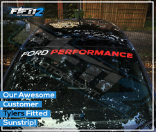 Ford Performance Fiesta ST Focus Sunstrip Zetec RS Sun Strip Decal Sticker