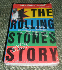 The Rolling Stones Story audio Book Cassette new sealed 1994 Giuliano Jagger