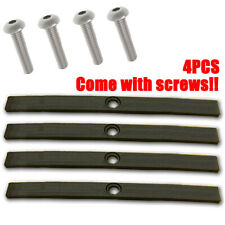 4x Vauxhall Opel Astra H Roof Rail Cover Replacement Trim Rack INC Bolts Screws