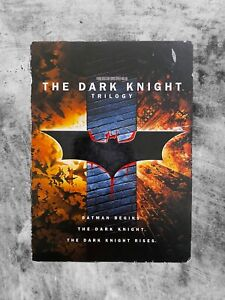 THE DARK KNIGHT TRILOGY (2008) DVD CULT ACTION CRIME BATMAN 6 DISC SET R4