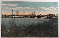 DB Postcard Norfolk Navy Yard, Norfolk Virginia VA Postally Unused Bosselman
