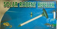 New - Solar Rodent Repeller - 2 pieces.Completely powered by Solar energy