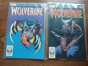8 Wolverine comics 2,3,Lim, 8,30-33,37,nm