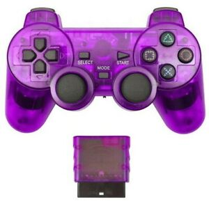 For Sony PS2 PS3 Wireless Game Controllers Gamepad Joystick Bluetooth Vibrator