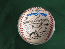 1986 New Britain Red Sox TEAM SIGNED Baseball AA Eastern League ~ 20 signatures