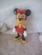 """Vintage Walt Disney Minnie Mouse action figure 6"""" Hong Kong D6"""