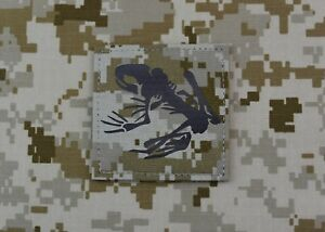 Infrared AOR1 NWU II Frog Skeleton Uniform Patch IR US Navy NSW SEAL Hook Backed
