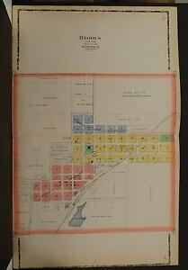 Iowa, Marshall County Map, 1907 Rhodes, Double Page P3#65