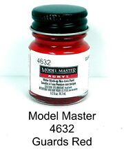 Model Master 4632 Guards Red 1/2 oz Acrylic Paint Bottle