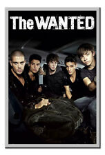 The Wanted Cover Poster Silver Framed Ready To Hang Frame Free P&P