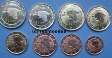 Estland Euro KMS 8 Euromünzen mit 1 Cent bis 2 Euro 2011 coins moedas bankfrisch