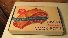 Vintage Ekco Diathermic Aluminum Cook Rods   NIB
