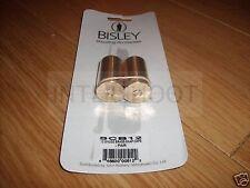 Bisley Brass 12 Gauge SNAP CAPS 12g Shotgun PAIR