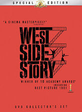 West Side Story Special Edition Collector's Box Set DVD with Collectible Book