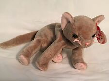 TY Beanie Baby - SCAT the Cat - Pristine with Mint Tags - RETIRED