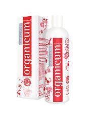 350ml organicum Argan-champú Vegan para el pelo teñido y contra escamas