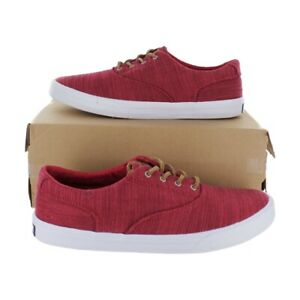 Sperry Mens Top-sider Striper II CVO Sneaker (STS19250) Red Size 8.5 - 11