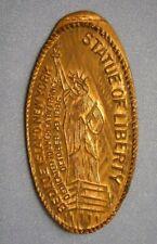 Statue Of Liberty elongated penny Bedloe Island New York Usa cent souvenir coin