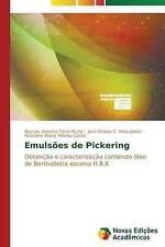 Emulsões de Pickering: Obtenção e caracterização contendo óleo de Bertholletia e