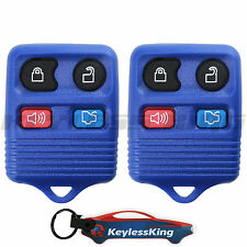 Replacement for Ford Mustang - 99 2000 2001 2002 2003 2004 2005 2006 Remote Blue