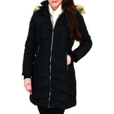 Nanette Nanette Lepore Women's Chevron Convertible Winter Puffer Coat