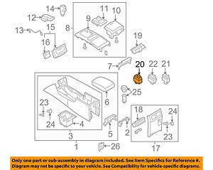 Infiniti NISSAN OEM 09-10 G37 Heated Seat-Switch 25170JJ50C