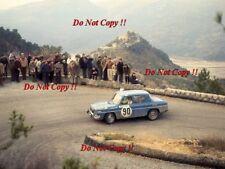 Gunnar Juvberget Renault 8 Gordini Monte Carlo Rally 1969 Photograph 1