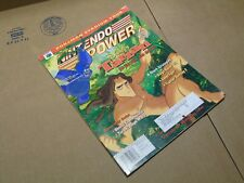 #129 129 Nintendo Power Tarzan Turok Ridge Racer N64 Video Game System
