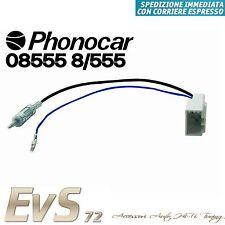Phonocar 08555 Cavo Adattatore Connettore Segnale Antenna DIN PEUGEOT 107 14>