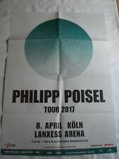"Konzertposter "" Philipp Poisel "" 08. April 2017 Köln"