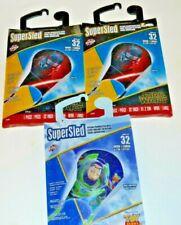 Lot of 3: Super Sled X Kites Star Wars Kylo Ren Nylon Kite, TOY STORY 4 BUZZ new