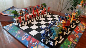 Marvel Сollectible Chess Superheroes VS Supervillains Russian DeAgostini 2014