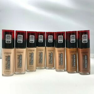 L'Oreal Infallible Foundation Up To 24H Fresh Wear SPF25 1.0fl.oz./30ml YOU PICK