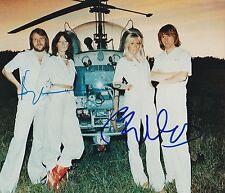 BJORN ULVAEUS BENNY ANDERSSON SIGNED ABBA 8X10 PHOTO DANCING QUEEN SHOWSTUFF
