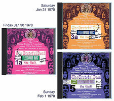 PETER GREEN'S FLEETWOOD MAC opening The Warehouse NOLA 1/30-2/1/1970, on 3 CDs