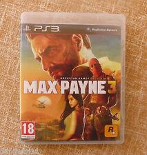 Max Payne 3 Ps3 En español Como nuevo